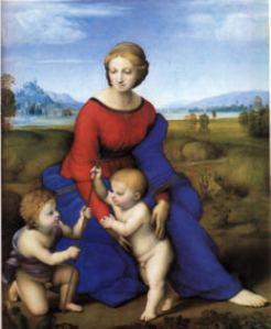 La Vierge dans la prairie » (1506)